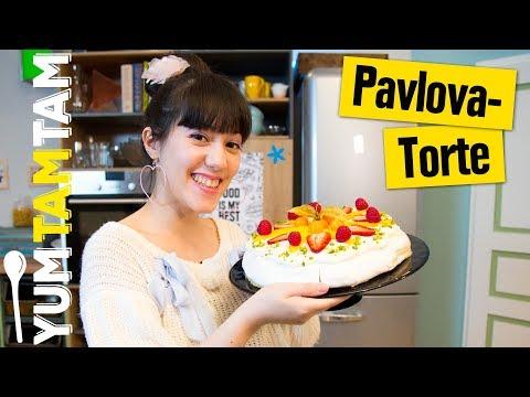 Pavlova-Torte // Luftige