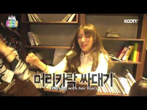 EXID Funny Clip #119- Ahn Sisters Dance Party