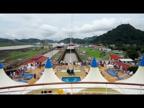 Panama Canal Transit - Costa Luminosa