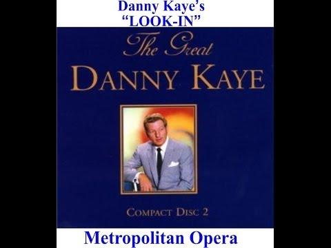 """Danny Kaye's """"Look In"""" at the New York Metropolitan Opera TRT1 Yayını"""