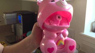 Care Bear Rainbow Bear Pink Bubble Bellie by Imperial Toys