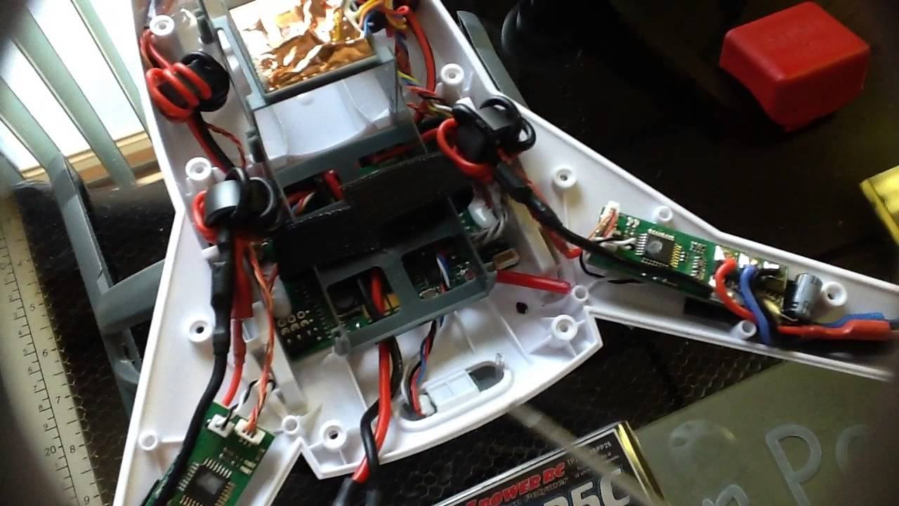 Inside The Blade 350 Qx