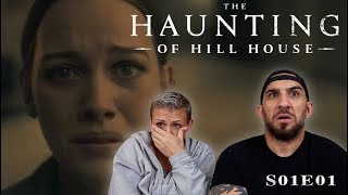 The Haunting of Hill House Episode 1 'Steven Sees a Ghost' REACTION!!