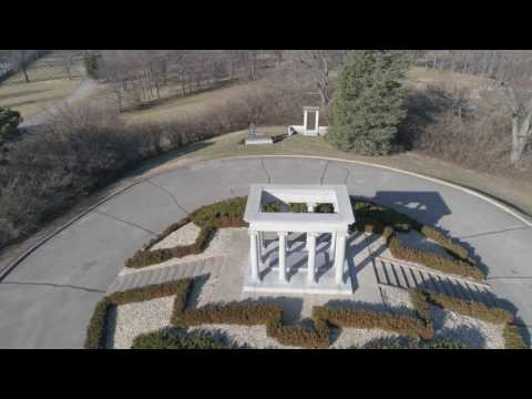 Crown Hill Cemetery - drone footage