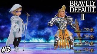 Bravely Default 2 - Boss: Selene and Dag (Hard Mode)