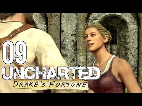 """THE SUNKEN CITY"" Uncharted: Drake's Fortune - Episode 9 Let's Play w/BluFlarez"