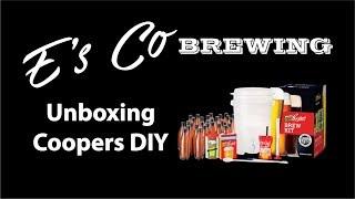 Coopers DIY Beer Making Kit - Unboxing