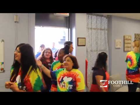 Foothill Credit Union Breakroom Makeover - Santa Fe Middle School