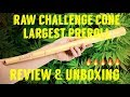 "24"" INCH RAW CHALLENGE CONE REVIEW & UNBOXING #FULLMELTFUSION #RawLife"