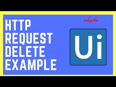 UiPath Rpa - Rest Delete Example || HTTP Request - YouTube