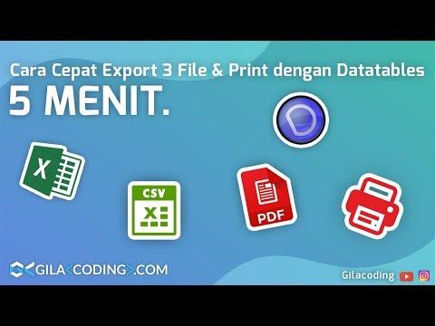 Cara Print Php