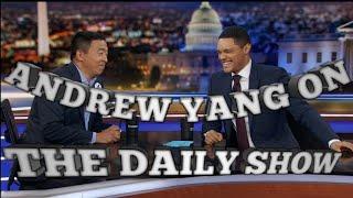 Andrew Yang The Daily Show with Trevor Noah Recap #YangGang2020 Links below!