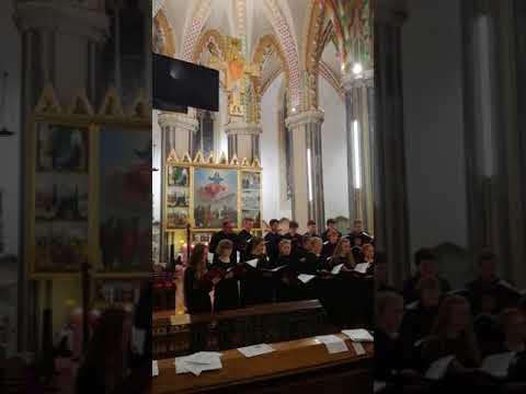 A Kent College karácsonyi koncertje a Budapest-Belvárosi Nagyboldogasszony Főplébánia-templomban