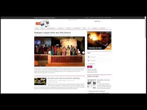 UX News Joomla šablóna