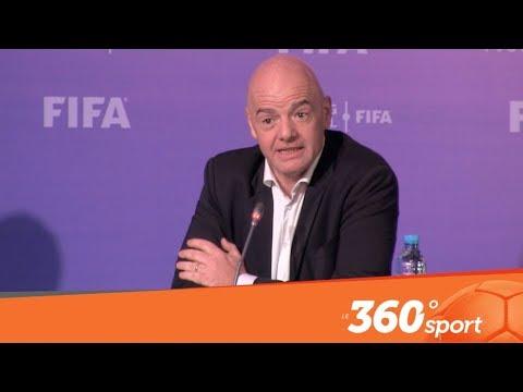 Le360.ma • L'essentiel de la conférence de Gianni Infantino à Marrakech