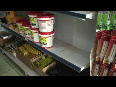 Loja material de construção e roubada em Confresa