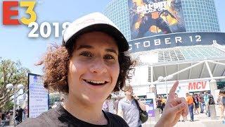 SNEAKING INTO E3! (2018)