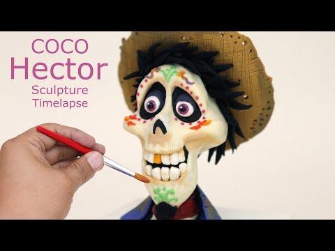 Sculpting Disney Pixar Coco Hector Character Plastilina Timelapse Tutorial