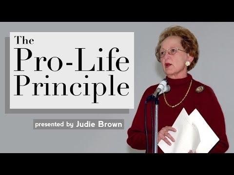 The Pro-Life Principle (1 of 4)