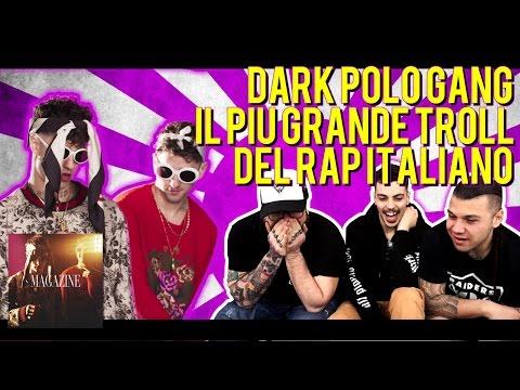 RAP REACTION | DARK POLO GANG - MAGAZINE (Prod. by SickLuke) | ARCADEBOYZ & PANDA