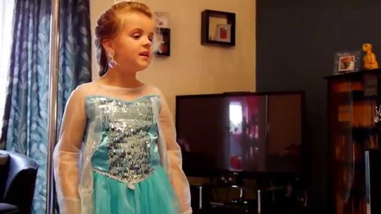 pthc girls 5 year old girl singing FROZEN! MUST WATCH
