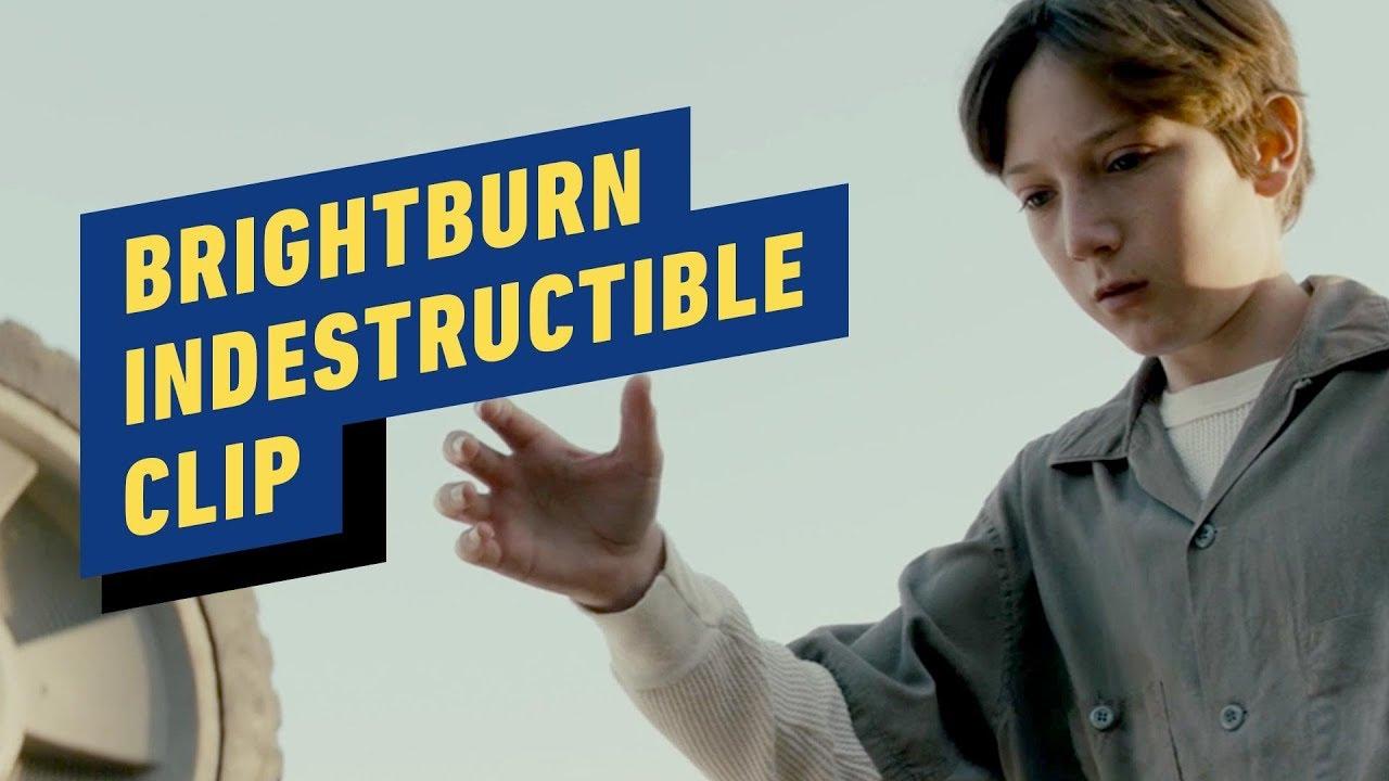 "Brightburn - ""Unzerstörbarer"" Clip + video"