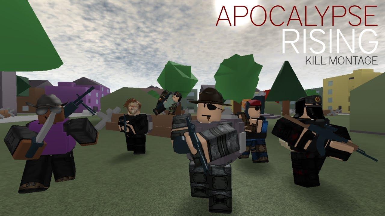 [ROBLOX] Apocalypse Rising Kill Montage - Euphoria - YouTube