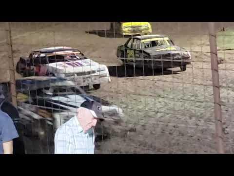 Hobby stock heat Salina Speedway 9.13