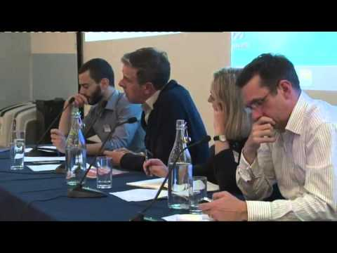 Paul Mason, Spyros Limneos, Chris Nineham - University of Westminster Journalism Conference 2013