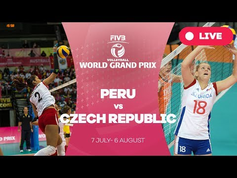 Peru v Czech Republic - Group 2: 2017 FIVB Volleyball World Grand Prix