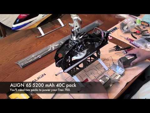 Align trex 700e v2 3gx super combo professionally built with.