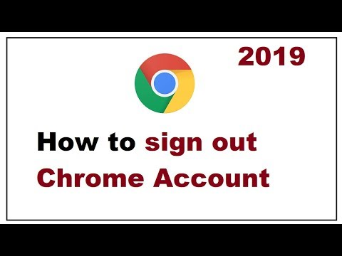 How To Sign Out Chrome Account