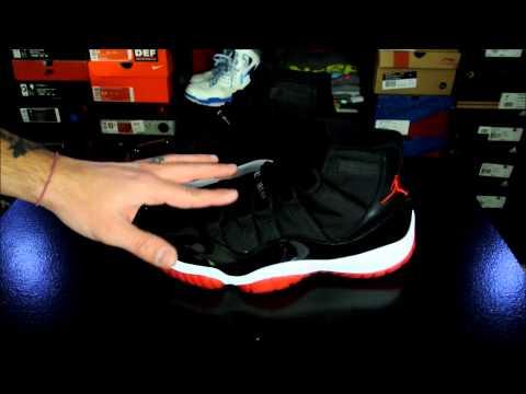 Air Jordan XI (11) Retro Black/ Red 2012