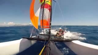 Trapezhaken, Pleiten Pech und Pannen, Catamaran Accident