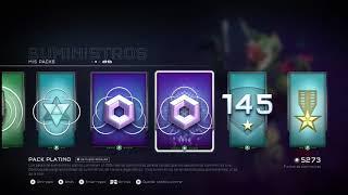 Me regalan el pack de voces de guerra, y 2 de platino :v|-|En Halo 5 :v