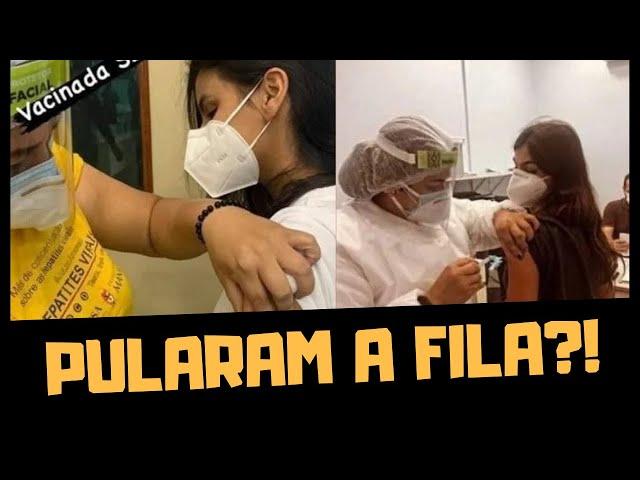 GÊMEAS DE MANAUS PULARAM A FILA DA VACINA?!!!