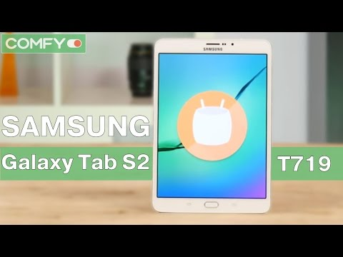 Samsung Galaxy Tab S2 8.0 T719 -  современный планшет премиального класса - Видео демонстрация