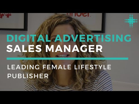 Digital Sales Advertising Manager | Leading Female Lifestyle Publisher