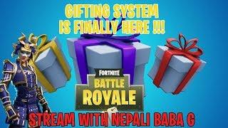 🔴 LIVE लाइभ LIVE 🔴 Nepali Baba G 🔴 Nepali Fortnite Streamer 🔴 giftingsystem.exe 🔴