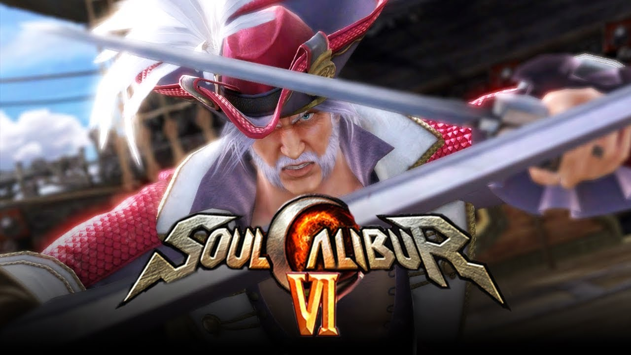 SOUL CALIBUR 6: New Roster Leak w/ One Piece Guest Character? Cervantes DLC  & Debuting Characters!