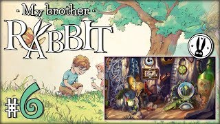 "MY BROTHER RABBIT #6 - ""Raczki i biedronkowe domino"""