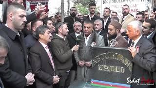 Abdullah Çatlı'nın kabri başında yaptığım  konuşmamın görüntüleri.