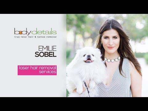 Laser Hair Removal for Legs Treatment Video | Emilie Sobel | Body Details