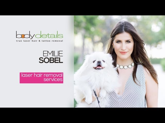 Laser Hair Removal for Legs Treatment Video | Emilie Sobel | Body Details