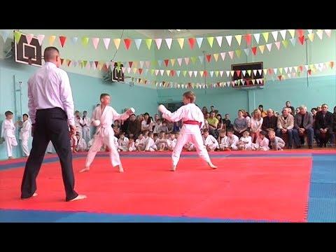 В Шарыпово состоялись городские  соревнования по карате до