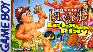 Let's Play Adventure Island for the Nintendo Game Boy