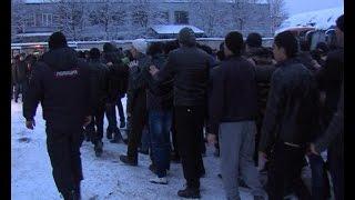 В Химках вновь проведен рейд по выявлению нелегальных мигрантов(, 2014-12-12T16:11:29.000Z)