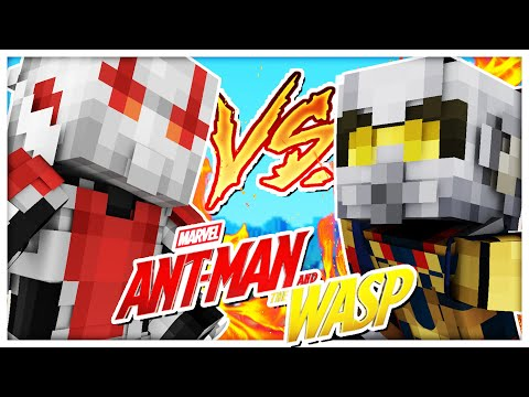 ANTMAN VS THE WASP MIKE MEYERS  Minecraft Mod Battle MIKE MYERS MEETS ANT MAN
