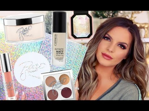 GET READY WITH ME Using NEW PRODUCTS! | Casey Holmes