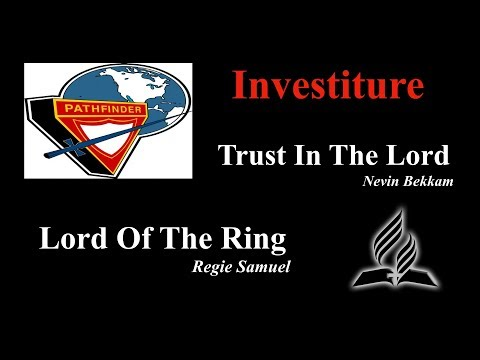 "Vespers: ""Trust In The Lord"" & ""Lord Of The Ring"""